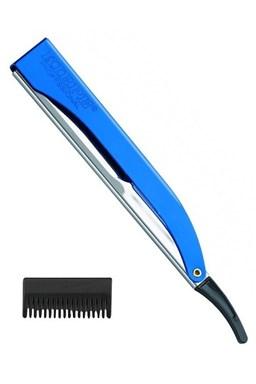 KIEPE Professional Pre Cut BLUE kadernícka britva s efilačnými nástavcom - modrá