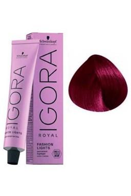 SCHWARZKOPF Igora Fashion L89 farebný melír na vlasy 60ml - Fialová červená
