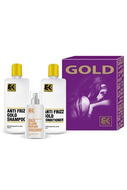 BRAZIL KERATIN Darčeková sada Set Gold 2014 - intenzívna regenerácia vlasov