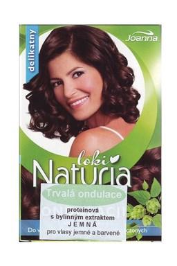 JOANNA Proteínová trvalá ondulácia na vlasy s bylinným extraktom 2x75ml - jemná