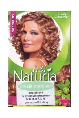 JOANNA Proteínová trvalá ondulácia na vlasy s bylinným extraktom 2x75ml - normálny