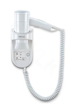 VALERA 533.05 032.05 Premium Smart 1600 Shaver hotelový fén so zásuvkou pre holiaci strojček - 1600W