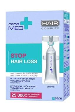 CECE MED Stop Hair Loss Ampoules 30x7ml - vlasové ampulky proti vypadávaniu vlasov