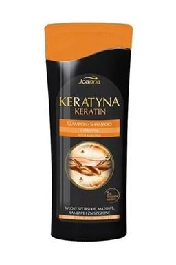 JOANNA Keratín Shampoo With Keratin 200ml - keratínový šampón na poškodené vlasy
