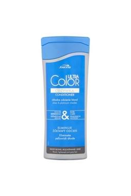 JOANNA Ultra Color Platin Conditioner 200g - strieborný balzam pre platinovú blond vlasov