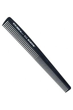 KIEPE Professional Active Carbon 513 - karbónový antistatický pánsky hrebeň na vlasy 180x22mm