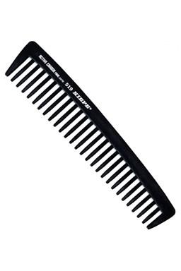 KIEPE Professional Active Carbon 519 - karbónový antistat. hrebeň na vlnité a husté vlasy 185x38mm