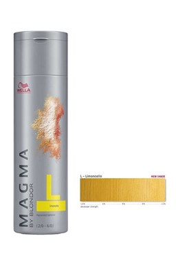 WELLA Professionals Magma By Blondor 120g - Melírovací farba Limoncello - žltá