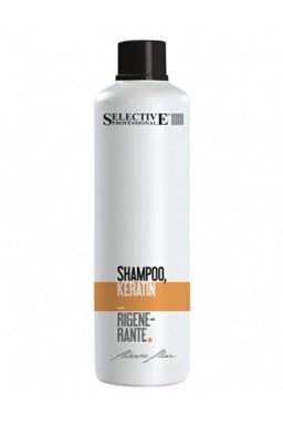 SELECTIVE Professional Shampoo Keratin Rigenerante 1l - keratínový šampón na vlasy