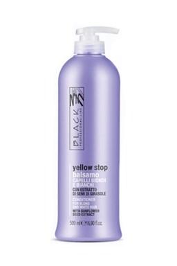 BLACK Yellow Stop Balsamo Antigiallo 500ml - balzam pre melírované a šedivé vlasy