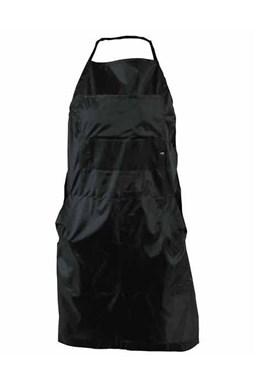 DUKO Pracovné kadernícka zástera 68x88cm z nylonu - čierna