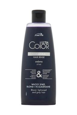 JOANNA Ultra Color SILVER Hair Rinse 150ml - tónovacie vlasová voda (preliv) - strieborná