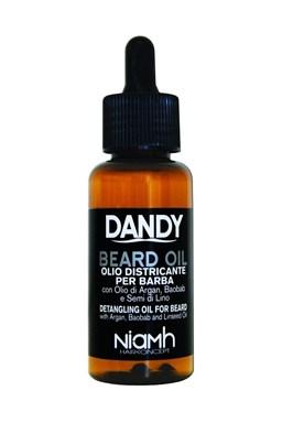 DANDY Beard Oil 70ml - Olej na briadku a fúzy s arganovým olejom