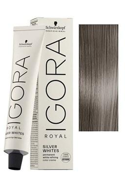 Schwarzkopf Igora Royal Absolute SilverWhite 60ml - farba pre strieborné a biele vlasy - Slate Grey