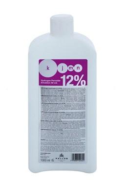 Kallos KJMN 12% (40vol) Hydrogen Peroxide Emulsion - krémový peroxid vodíkov 1000ml