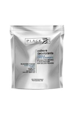 BLACK Melír Polvere Decolorante 500g sáčok - odfarbovacie a melírovací prášok - modrý