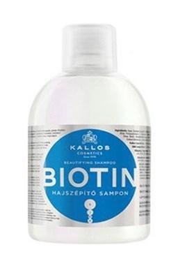 Kallos KJMN Biotín Shampoo 1000ml - šampón pre tenké, slabé a lámavé vlasy
