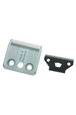MOSER 1401-7600 Náhradné 2 dielna oceľová strihacie hlavice pre strojčeky Moser 1400