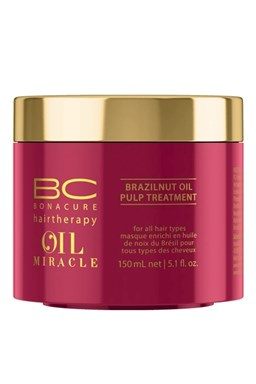 SCHWARZKOPF BC Oil Miracle Brazilnut Oil Pulp Treatment 150ml - reg. Maska farbené vlasy