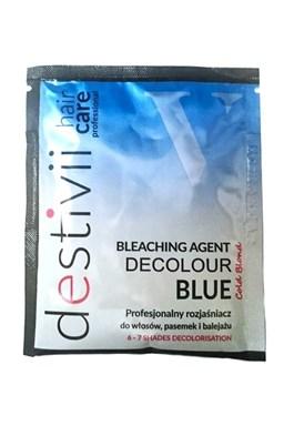 DESTIVII Professional Decolour Blue - melír na vlasy v prášku 40g - zosvetľuje o 6-7 tónov