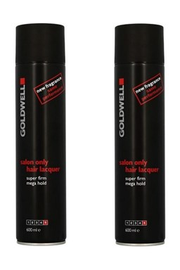 GOLDWELL - AKCE Salon Only Hair Lacquer Super Firm - lak na vlasy extra silný 2x600ml