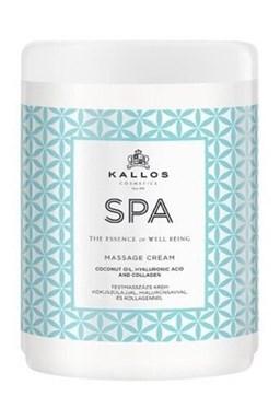 Kallos SPA masage Cream 1000ml - masážny telový krém s kokosovým olejom