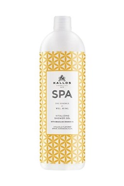 Kallos SPA Orange Oil Vitalizing Shower Gel 1000ml - sprchový gél s olejom z pomaranča