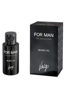 VITALITYS For Man Beard Oil 30ml - olej na fúzy