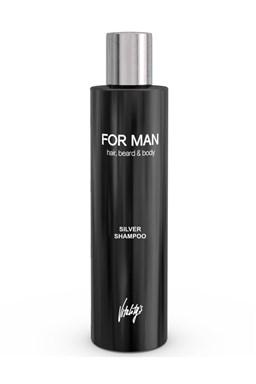 VITALITYS For Man Silver Shampoo 240ml - strieborný šampón na vlasy