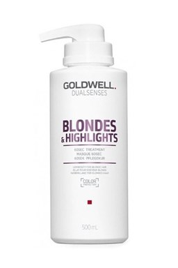 GOLDWELL Dualsenses Blondes And Highlights 60sec Treatment 500ml - maska \u200b\u200bpre bielu blond