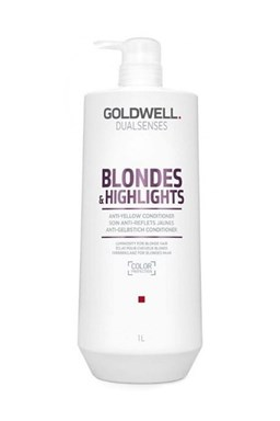 GOLDWELL Dualsenses Blondes And Highlights Conditioner 1000ml - neutralizuje žlté odtiene