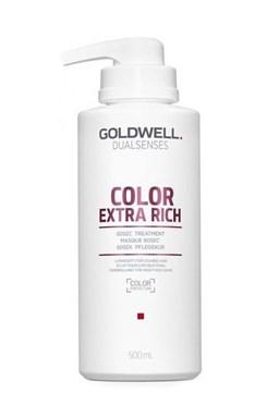 GOLDWELL Dualsenses Color Extra Rich 60sec Treatment 500ml - int. maska \u200b\u200bpre farbené vlasy