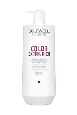 GOLDWELL Dualsenses Color Extra Rich Shampoo 1000ml - ošetrujúci šampón pre farbené vlasy