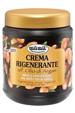 MIL MIL Argan Regeneračný krém s arganovým olejom pre všetky typy vlasov 1000ml