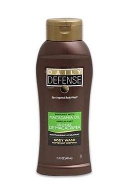 DAILY DEFENSE Macadamia Oil Body Wash 443ml - hydratačný telový šampón