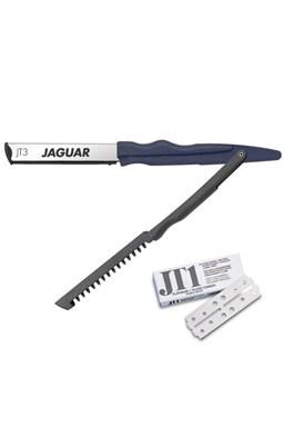 JAGUAR JT3 Britva s plastovou rukoväťou - zrezávač na tvarovanie, rezanie a holenie