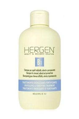 BES Hergen B1 Šampon 400ml - pro barvené, trvalené a oslabené vlasy