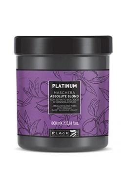 BLACK Platinum Absolute Blond Mask 1000ml - maska pro šedivé a melírované vlasy
