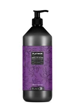 BLACK Platinum Absolute Blond Shampoo 1000ml - šampon pro šedivé a melírované vlasy