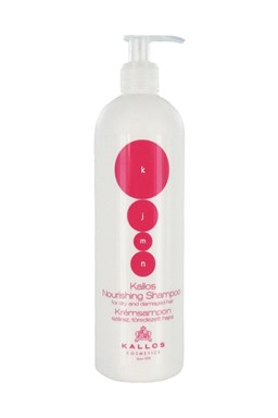 KALLOS KJMN Nourishing Shampoo 500ml - šampón na suché lámavé vlasy