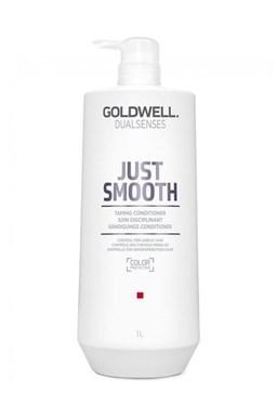 GOLDWELL Dualsenses Just Smooth Conditioner 1000ml - kondícií. pre uhladenie krepatých vlasov