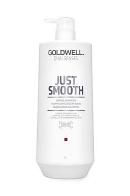 GOLDWELL Dualsenses Just Smooth Shampoo 1000ml - šampón pre uhladenie krepatých vlasov