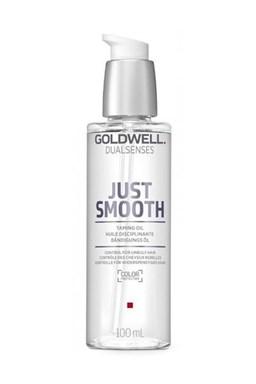 GOLDWELL Dualsenses Just Smooth Taming Oil 100ml - uhladzujúci olej pre nepoddajné vlasy