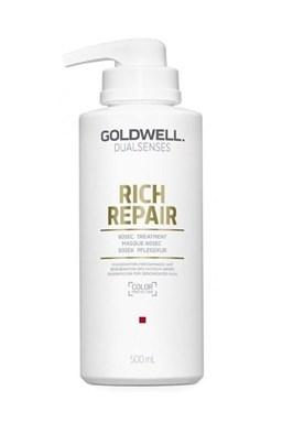 GOLDWELL Dualsenses Rich Repair 60sec Treatment 500ml - Intenziv. maska \u200b\u200bpre lámavé vlasy