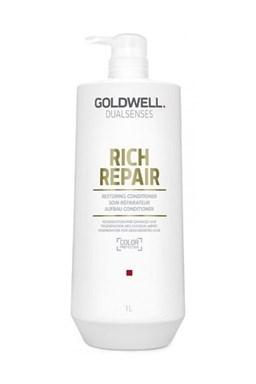 GOLDWELL Dualsenses Rich Repair Conditioner 1000ml - kondícií. pre suché a lámavé vlasy
