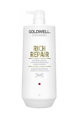 GOLDWELL Dualsenses Rich Repair Shampoo 1000ml - regeneračný šampón pre suché vlasy