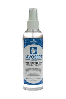 LAVOSEPT Pokožka Dezinfekčný roztok na ruky a pokožku 200ml - spray s vôňou citrónu