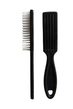 DUKO Kosmetika pomůcky Kartáček na ruce s rukojetí 23x150mm - černý
