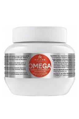 Kallos KJMN Omega Hair Mask 275ml - maska na lámavé vlasy a rozštiepené končeky