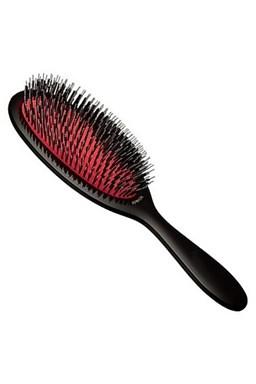 REVOLUTION HAIR Špeciálna profesionálny kefa na predlžené vlasy - čierny